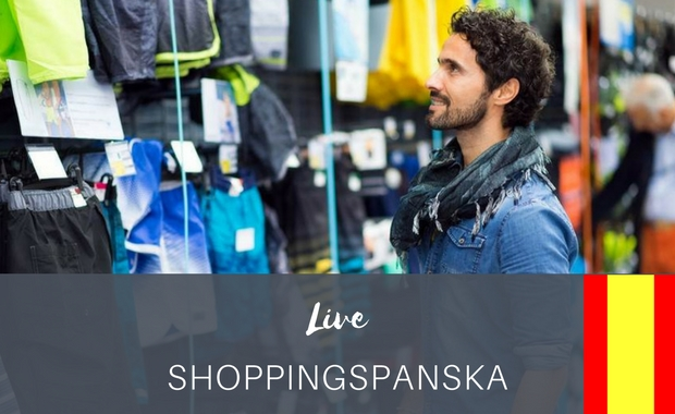 Shoppinspanska - Live