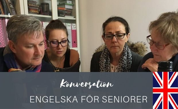 Engelska konversation for seniorer