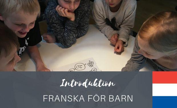Introduktion - franska för barn
