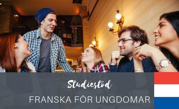 Studiestöd - Franska för ungdomar-