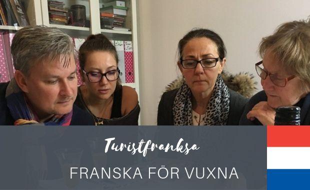 Turistsfranska - franska för vuxna